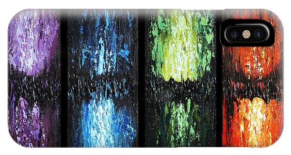 Color Panels 1 IPhone Case