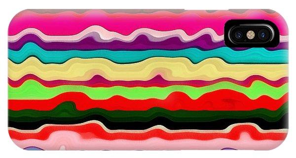 Color Waves No. 1 IPhone Case
