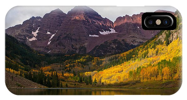 Colorado 14ers The Maroon Bells IPhone Case