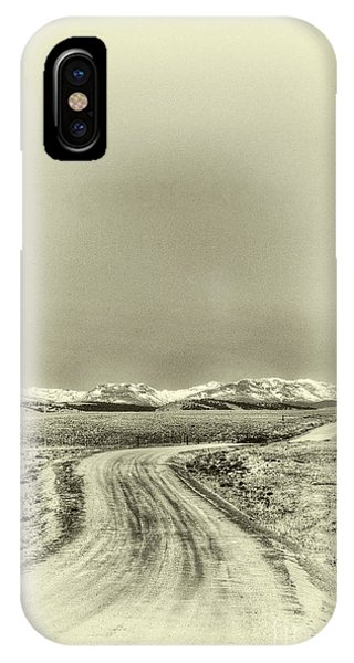 Colorado Back Road IPhone Case