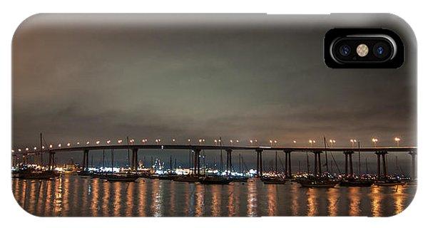 Coronado Bridge San Diego IPhone Case