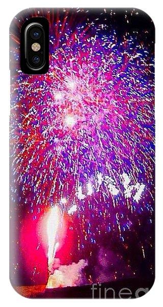 4th July iPhone Case - Colorado Fireworks  by Trisha Buchanan