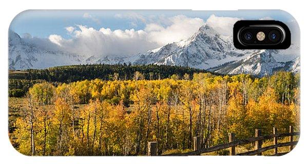 Colorado Gold Panorama IPhone Case