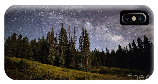 IPhone Case featuring the photograph Colorado Milky Way by Brian Spencer