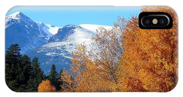 Colorado Mountains In Autumn IPhone Case