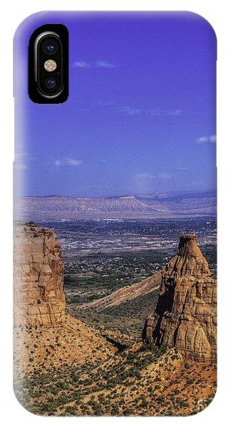 Colorado Nat Monument IPhone Case