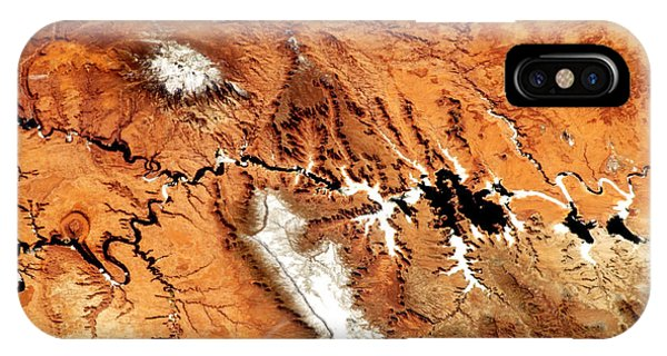 Colorado Plateau Nasa IPhone Case