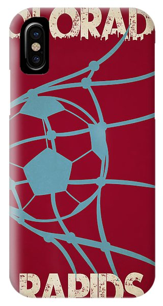 Soccer iPhone Case - Colorado Rapids Goal by Joe Hamilton