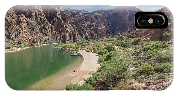 Colorado River In The Grand Canyon IPhone Case