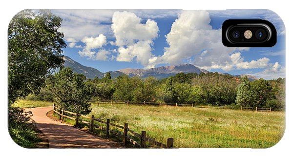 Colorado Scenic Pathway IPhone Case