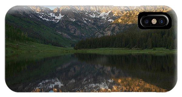 Colorado Sunset - Piney Lake IPhone Case