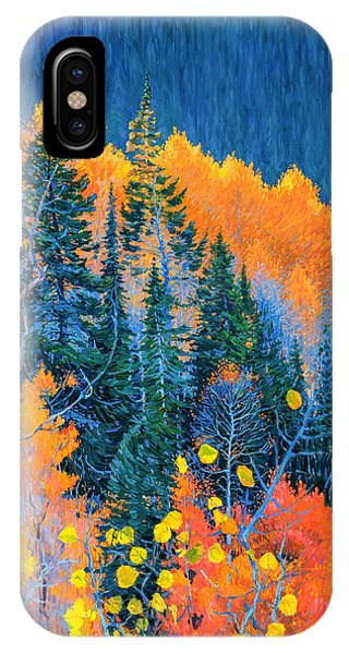 Colorado Trees At Fall IPhone Case
