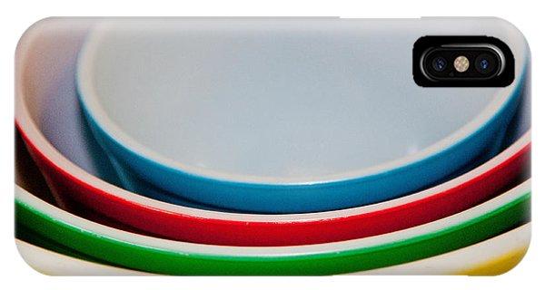 Colored Ceramic Bowls IPhone Case