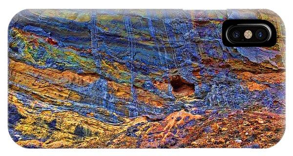 Colored Cliffs  IPhone Case