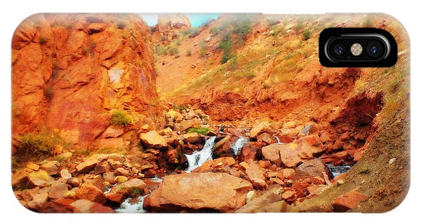 Colored Falls IPhone Case