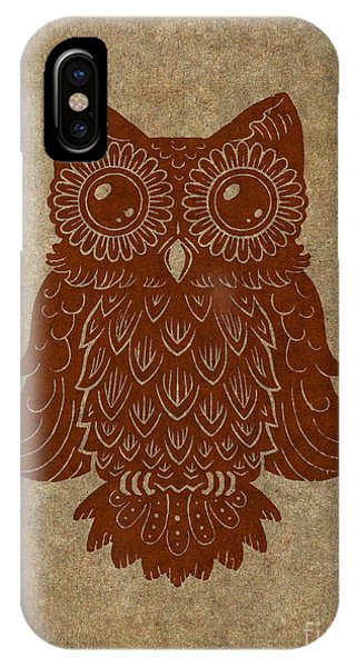 Colored Owl 2 Of 4  IPhone Case