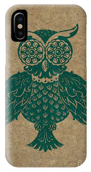 Colored Owl 4 Of 4  IPhone Case