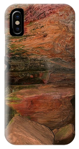 Colored Rock Layers IPhone Case