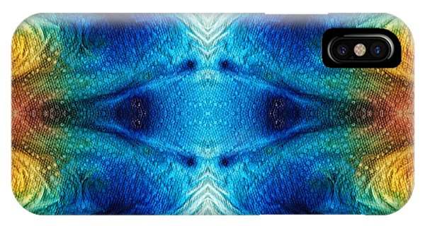 Colorful Abstract Art Pattern - Color Wheels - By Sharon Cummings IPhone Case