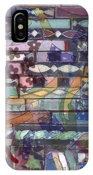 colorful abstract art photography - Brickwork IPhone Case