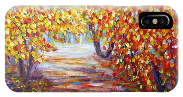 Colorful Autumn IPhone Case