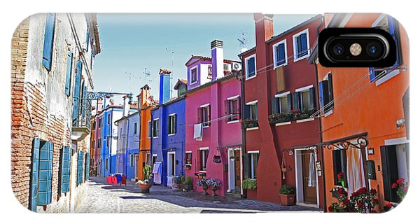 Colorful Burano Phone Case by Ernst Cerjak