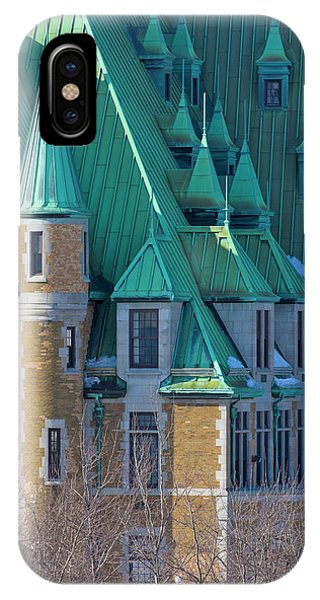 Quebec City iPhone Case - Colorful Colonial Building, Quebec City by Keren Su