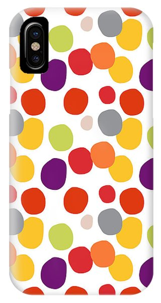 Purple iPhone Case - Colorful Confetti  by Linda Woods