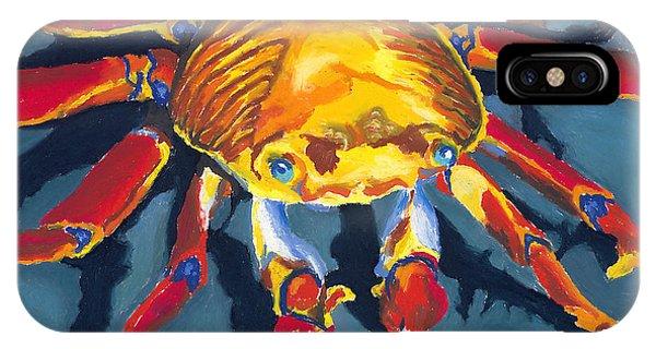 Colorful Crab IPhone Case