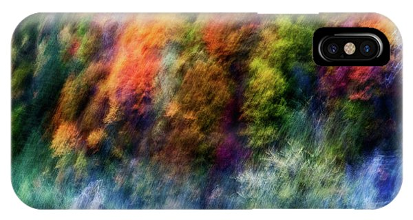 Leaf iPhone Case - Colorful Forest by Wei He