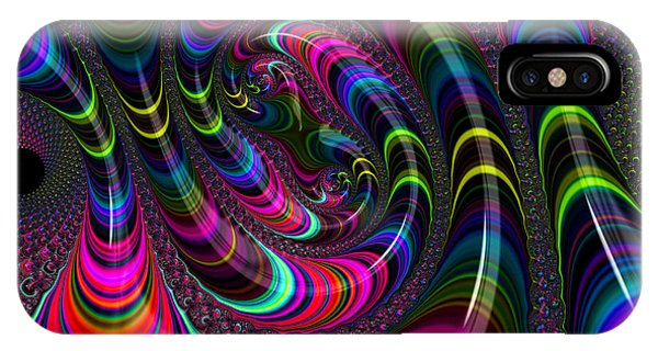Colorful Fractal Art IPhone Case
