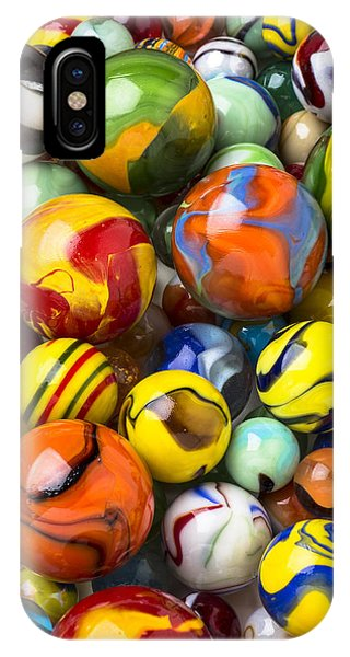 Novelty iPhone Case - Colorful Glass Marbles by Garry Gay