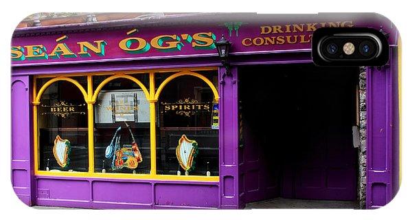Colorful Irish Pub IPhone Case