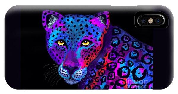 Colorful Jaguar IPhone Case