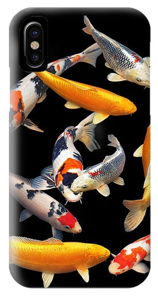 Colorful Japanese Koi Vertical IPhone Case