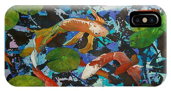Colorful Koi IPhone Case