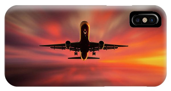 Airplanes iPhone Case - Colorful Landing. by Leif L?ndal