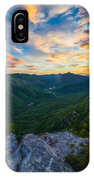 Colorful Linville Sunrise IPhone Case