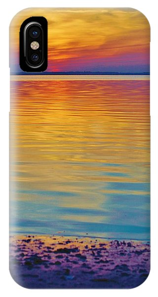 Colorful Lowtide Sunset IPhone Case
