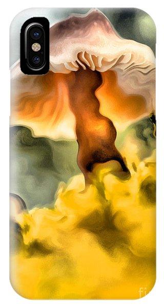 Colorful Mushroom IPhone Case