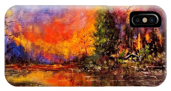 Colorful Night.. IPhone Case