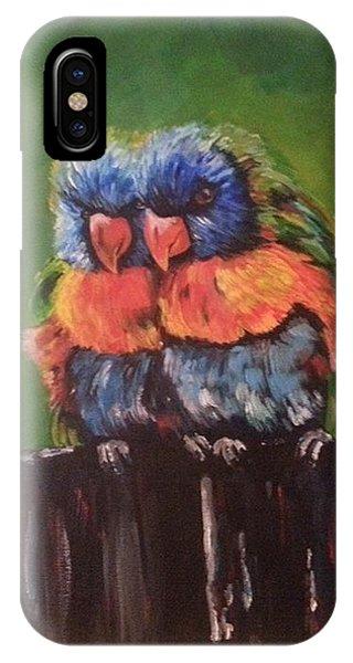 Colorful Parrots IPhone Case