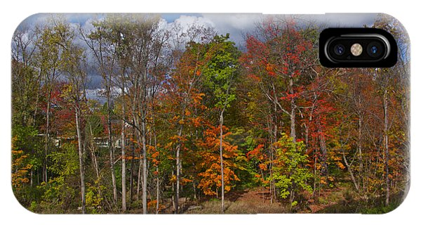 Colorful Ravine A Wider Angle IPhone Case