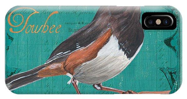 Colorful Bird iPhone Case - Colorful Songbirds 3 by Debbie DeWitt