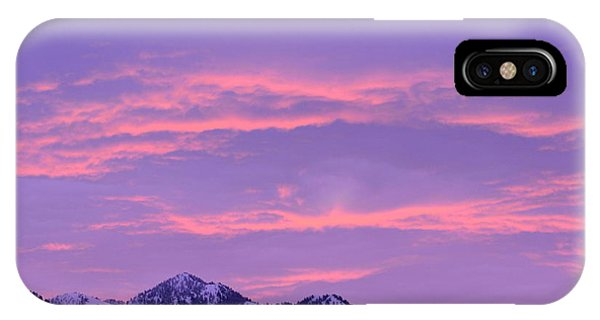 IPhone Case featuring the photograph Colorful Sunrise No. 2 by Dorrene BrownButterfield