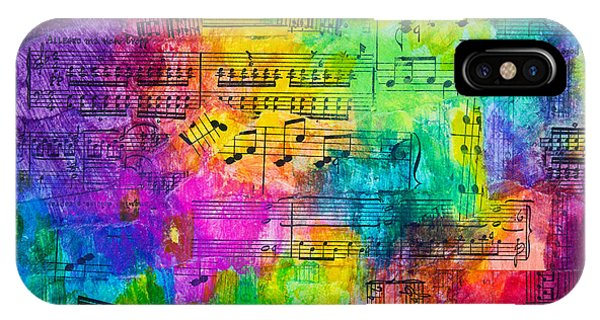 Colorful Symphony IPhone Case