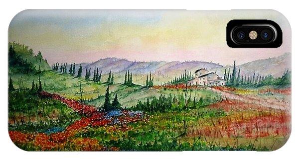 Colorful Tuscany IPhone Case