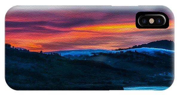 Colorful Twilight Panorama IPhone Case