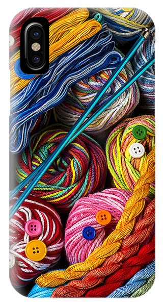 Colorful World Of Art And Craft IPhone Case