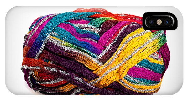 Colorful Yarn IPhone Case